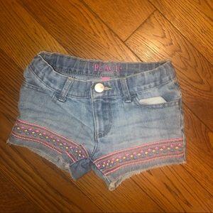 Girls 4t denim shorts